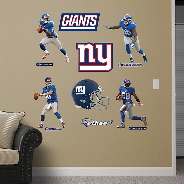 Shop New York Giants Wall Decals & Graphics