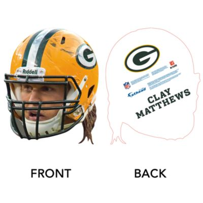 Clay Matthews Game Day Big Head Cut Out