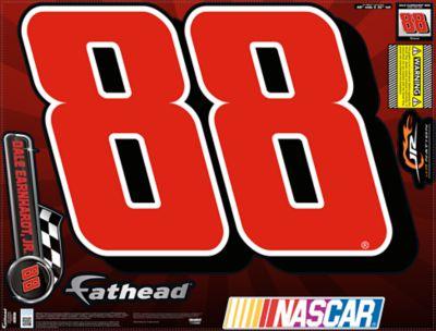 Dale Earnhardt Jr. #88 Street Grip Outdoor Decal