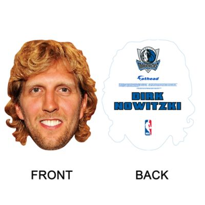 Dirk Nowitzki Big Head Cut Out