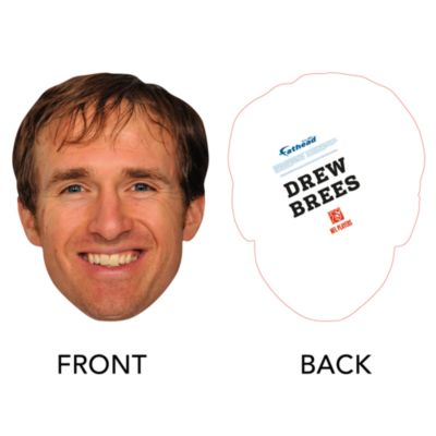 Drew Brees Big Head Cut Out
