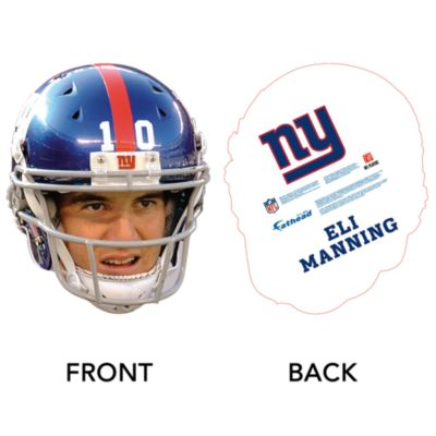Eli Manning Game Day Big Head Cut Out