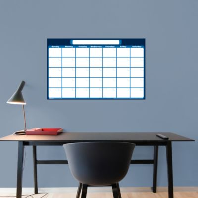 Medium 1-Month Dry Erase Calendar Wall Decal