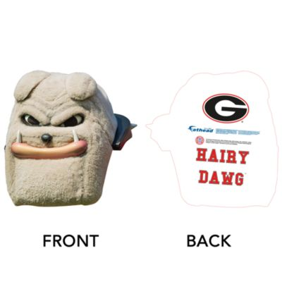 Hairy Dawg Big Head - Georgia Cut Out