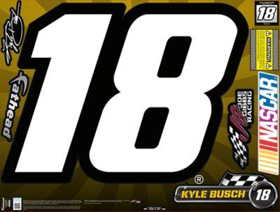 Kyle Busch #18 Street Grip Outdoor Decal