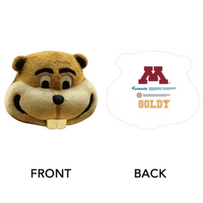 Goldy Gopher Big Head - Minnesota Cut Out