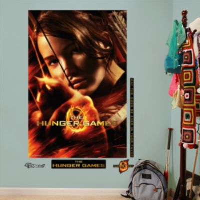 Katniss Everdeen Takes Aim Mural