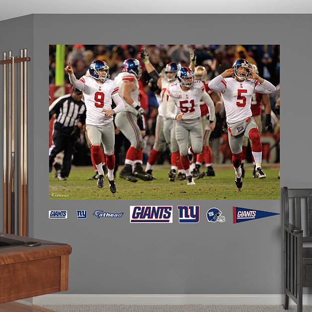 Giants Nfc Championship Celebration Mural Wall Decal