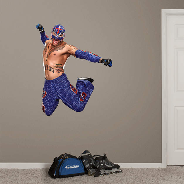 Life-Size Rey Mysterio Wall Decal | Shop Fathead® for WWE ...