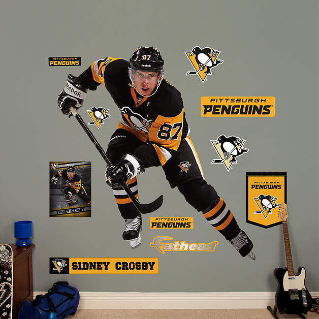 Life-Size Sidney Crosby - Center Wall Decal | Shop Fathead ...