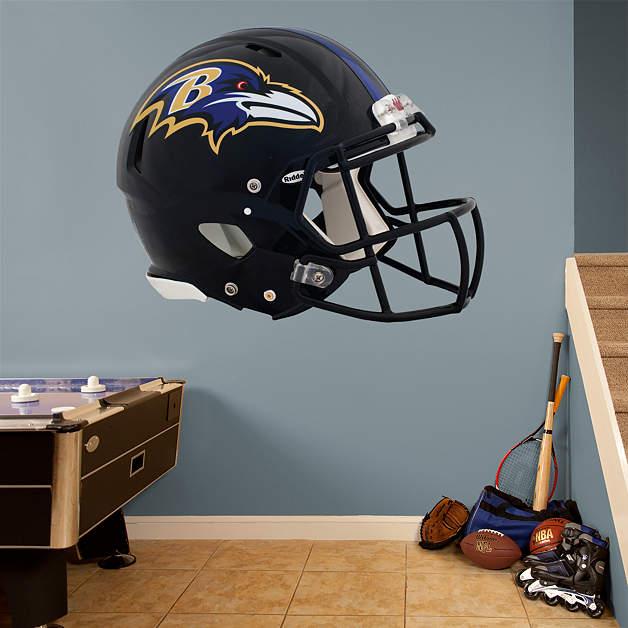 Baltimore Ravens Home Decor: Baltimore Ravens Helmet Fathead Wall Decal