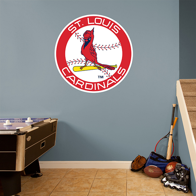 St. Louis Cardinals Classic Logo Wall Decal