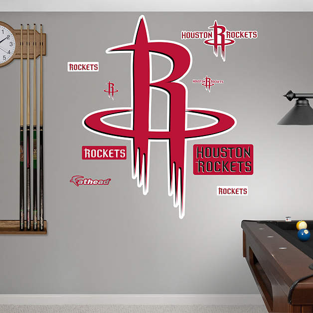 Houston Rockets Logo Wall Decal