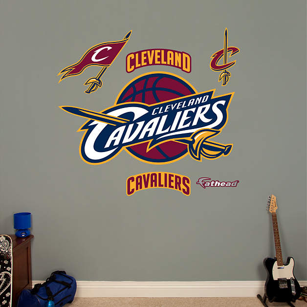Cleveland Cavaliers Fans Scale Walls To Get Photos Of Nba: Cleveland Cavaliers Logo Wall Decal