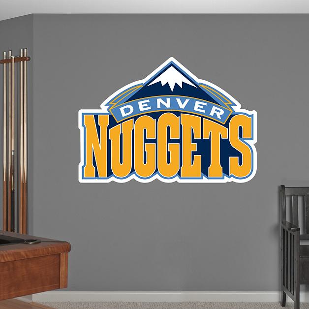 Denver Nuggets Facts: Denver Nuggets Logo Wall Decal