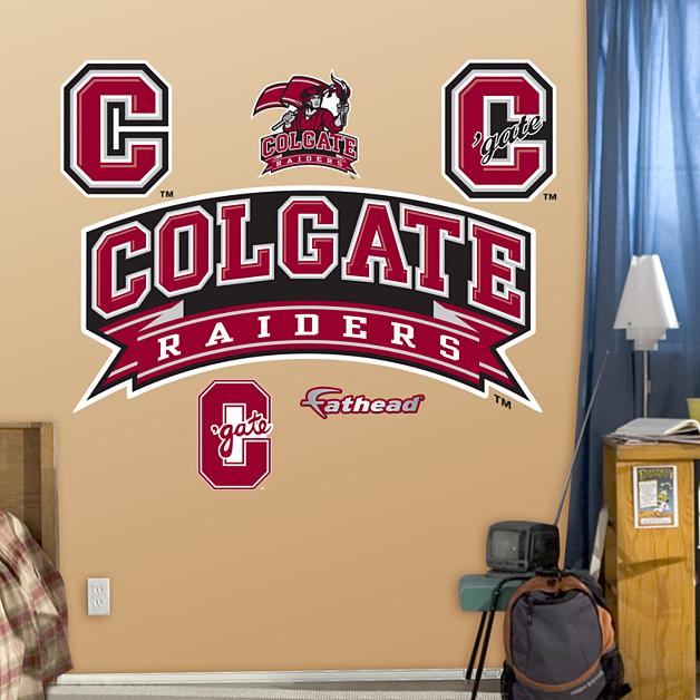 Colgate Raiders Logo Wall Decal | Shop Fathead® for ...