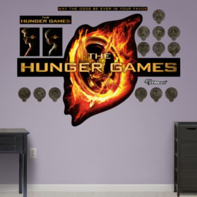 the hunger games logo wall decal shop fathead 174 for the