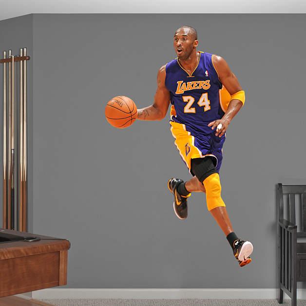 Life-Size Kobe Bryant - No. 24 Wall Decal