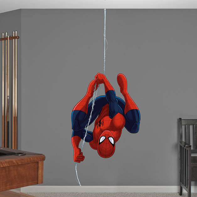 Ultimate Spider Man Repel Wall Decal Shop Fathead 174 For