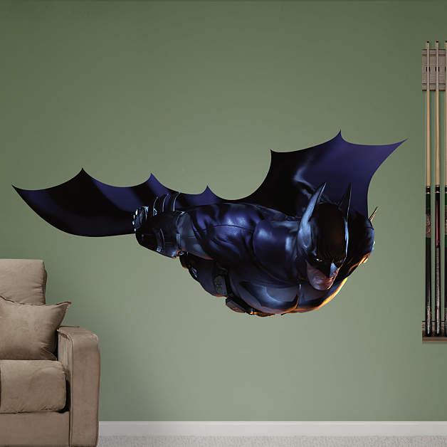 Arkham City (Batman Beyond) - Gliding Around The City ...   Batman Arkham City Batman Beyond Flying