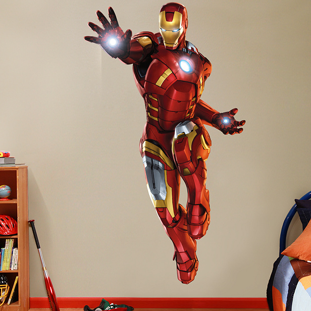 Shop Iron Man Wall Decals & Graphics | Fathead Heroes