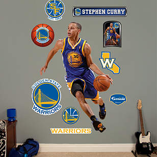Life Size Stephen Curry Wall Decal Shop Fathead 174 For