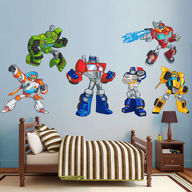 Transformers Rescue Bots Collection Wall Decal Shop
