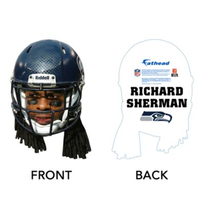 Richard Sherman Game Day Big Head Cut Out