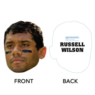 Russell Wilson Big Head Cut Out