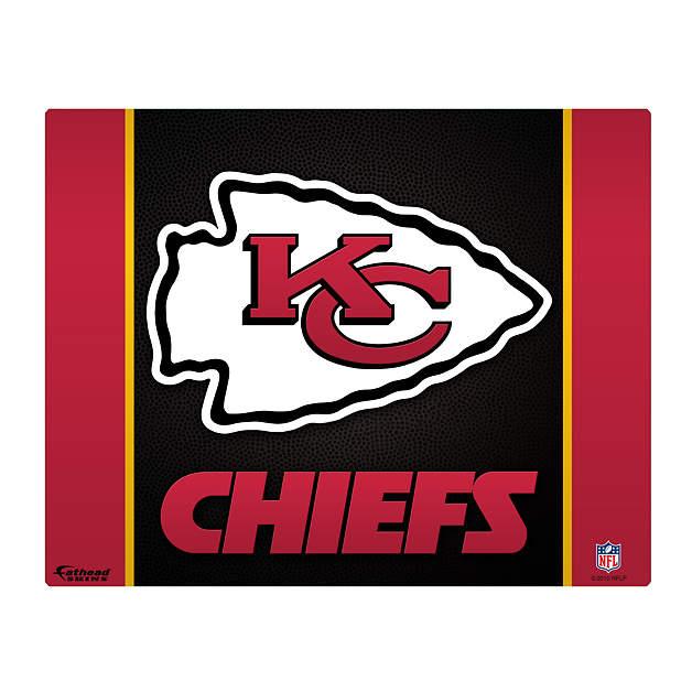 "Kansas City Chiefs Logo 15/16"" Laptop Skin | Shop Fathead ..."