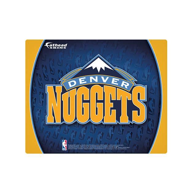 """Denver Nuggets Facts: 15/16"""" Laptop Skin Denver Nuggets Logo"""