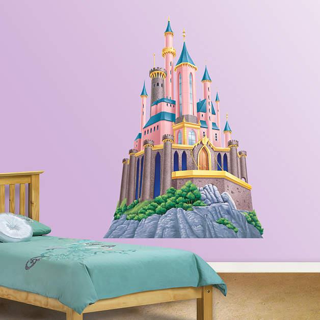Disney Princess Castle Fathead Wall Decal