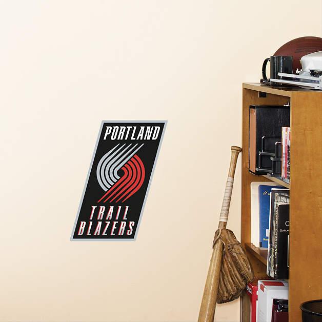 Blazers Portland Posters: Small Portland Trail Blazers Teammate Decal