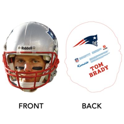 Tom Brady Game Day Big Head Cut Out