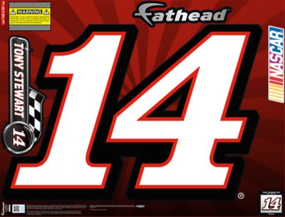 Tony Stewart #14 Street Grip Outdoor Decal