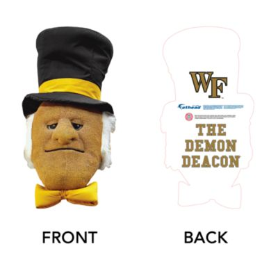 The Demon Deacon Big Head - Wake Forest Cut Out