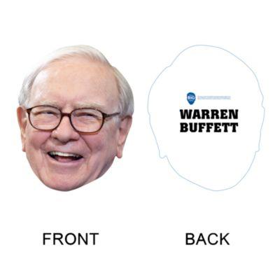 Warren Buffett Big Head Cut Out