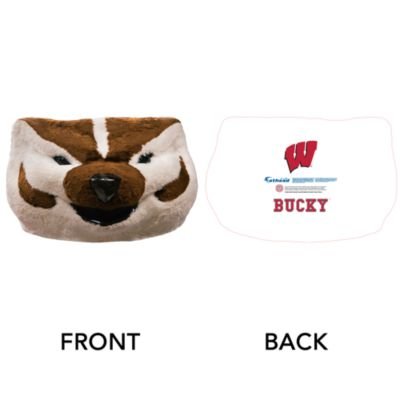 Bucky Badger Big Head - Wisconsin  Cut Out