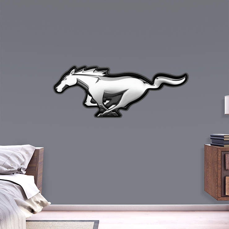 Ford Mustang Logo Wall Decal | Shop Fathead® for Ford Decor