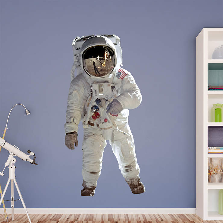 Life-Size Buzz Aldrin - Astronaut Wall Decal | Shop ...
