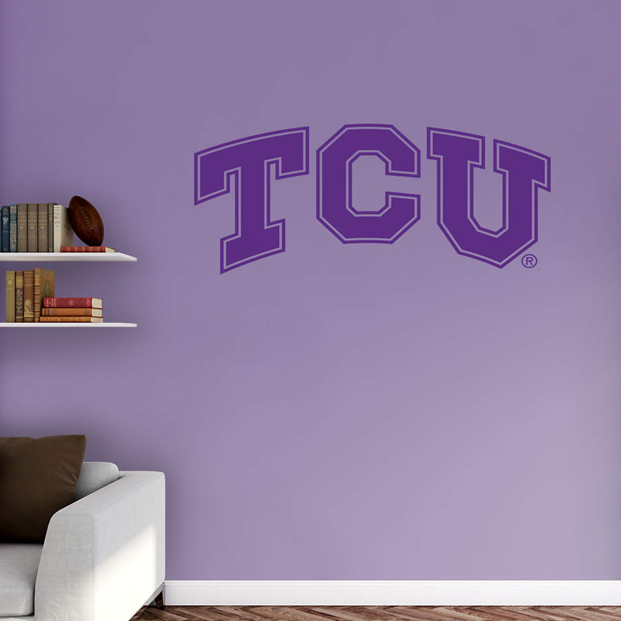 Tcu Horned Frogs Logo Transfer Decal Wall Decal Shop