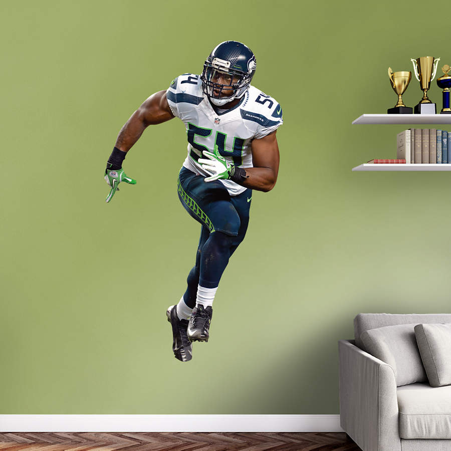 Life Size Bobby Wagner Wall Decal Shop Fathead 174 For
