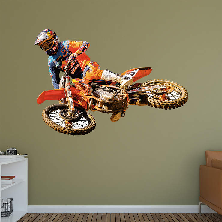 Life Size Ryan Dungey Wall Decal Shop Fathead 174 For