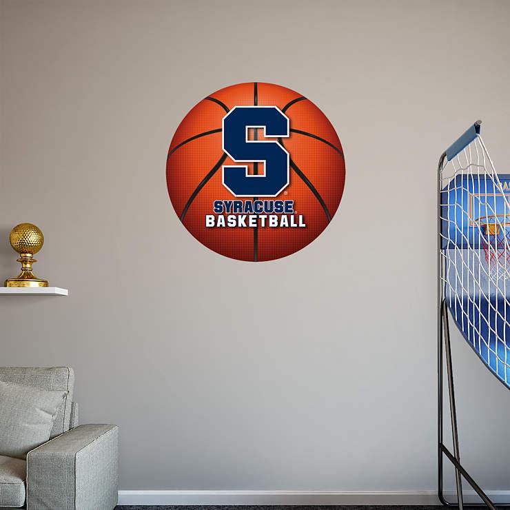 Orange Classroom Decor ~ Syracuse orange basketball logo wall decal shop fathead