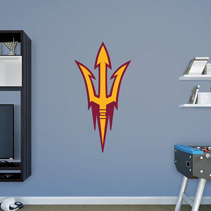 Arizona State Sun Devils Pitchfork Logo Wall Decal Shop