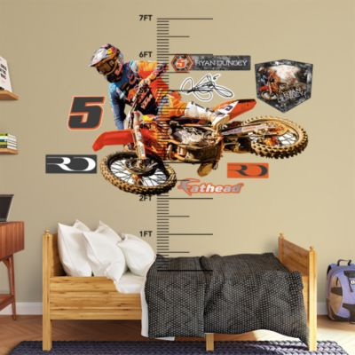Boise State Broncos Blue Helmet Fathead Wall Decal