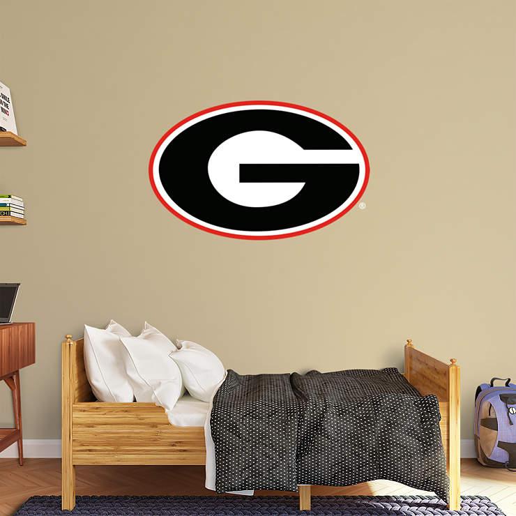 Georgia Bulldogs Logo Wall Decal