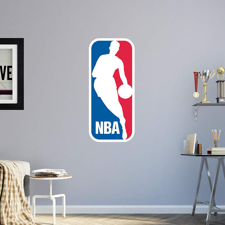 NBA Logo Wall Decal | Shop Fathead® for NBA Decor