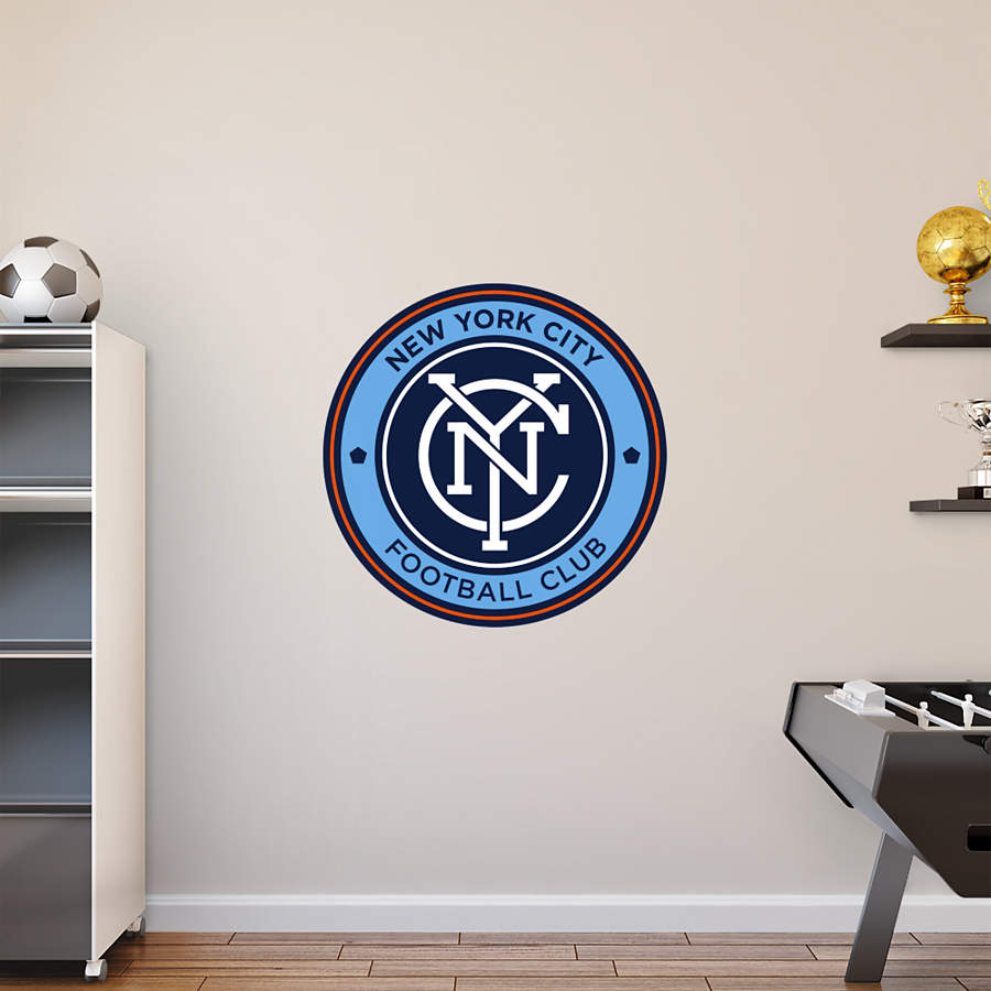New York City Fc Logo Wall Decal Shop Fathead For New