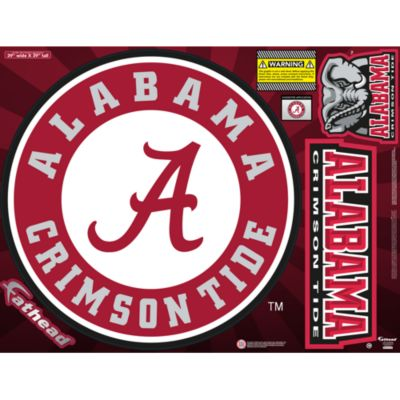 Alabama Crimson Tide Street Grip Outdoor Decal
